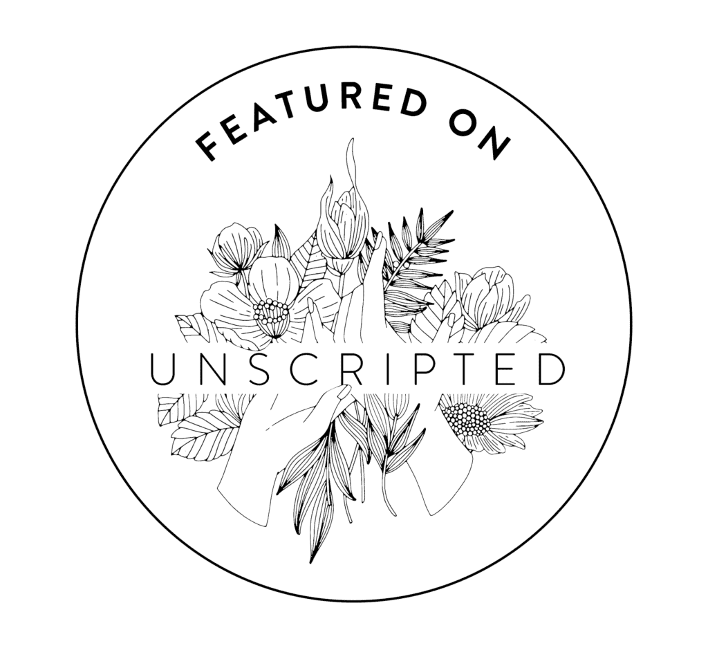 Unscripted Logo